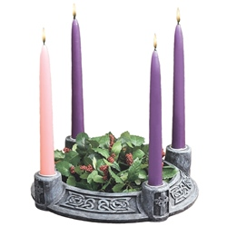 Celtic Knot Advent Wreath