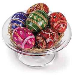 Hand-Painted Eggs (Pysanky)