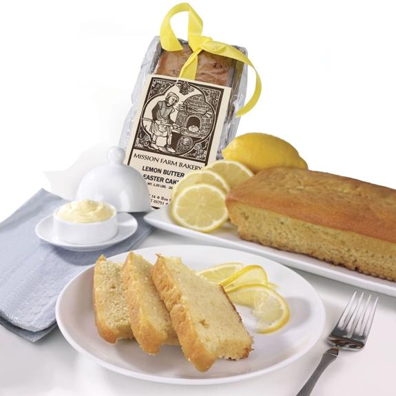 Lemon Butter Easter Cake