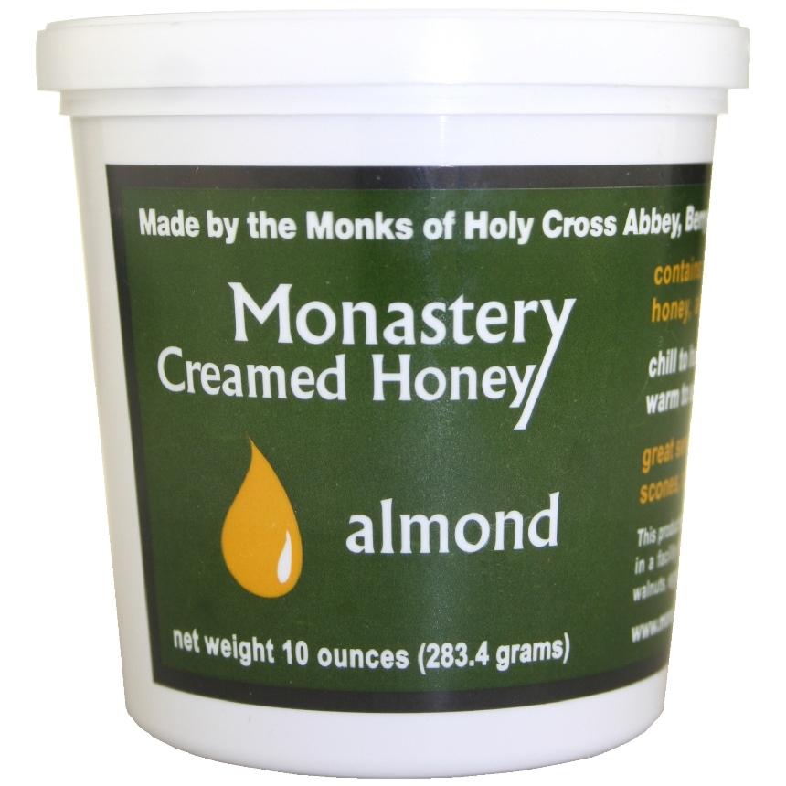 Almond Creamed Honey