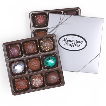 Holy Cross Monastery Truffles (silver gift box)