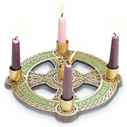 Book of Kells Advent Wreath