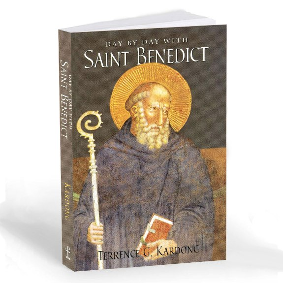 Day by Day with St. Benedict (paperback)