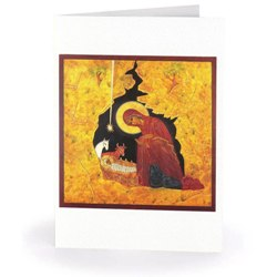 Golden Nativity of Christ (box of 15)