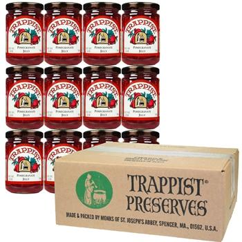 Trappist Preserves - Pomegranate Jelly (12-Jar Case)