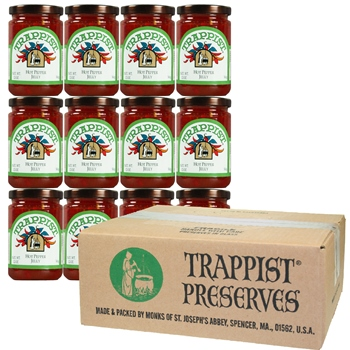 Trappist Preserves - Hot Pepper Jelly (12-Jar Case)