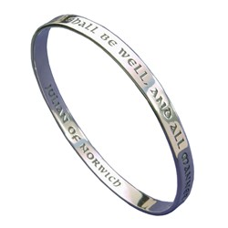 All Shall Be Well Bracelet (silver)