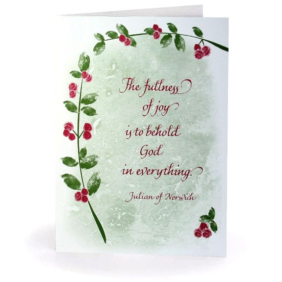 Julian of Norwich Christmas Cards