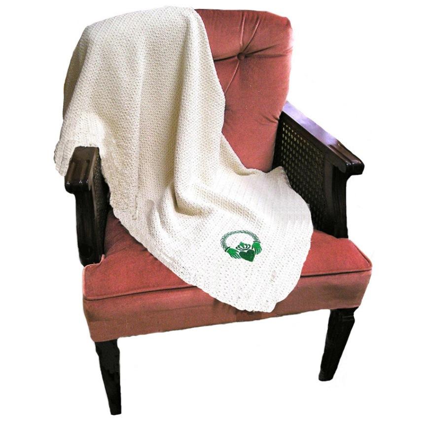Claddagh Organic Cotton Blanket
