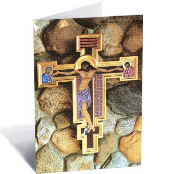 Abbey Crucifix Note Cards (5-pack)