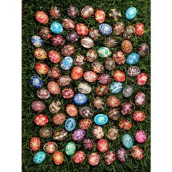 Pysanky Jigsaw Puzzle (550 pieces)