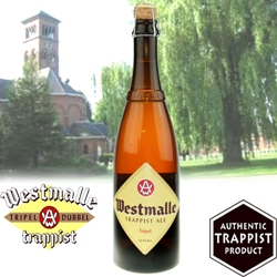 Westmalle Tripel Trappist Ale 25.4 oz