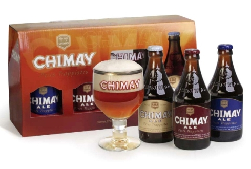 Chimay Gift Set (with glass goblet)