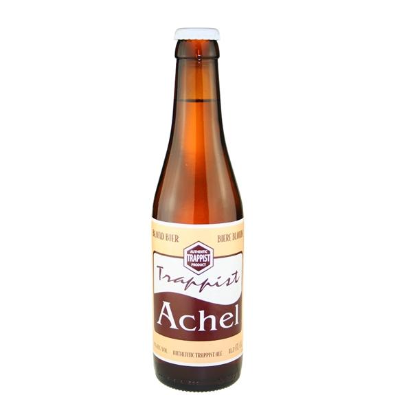 Achel Blond 8 (white cap) Trappist Ale 11.2 oz