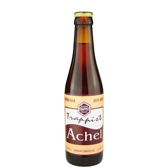 Achel Bruin 8 (gold cap) Trappist Ale 11.2 oz