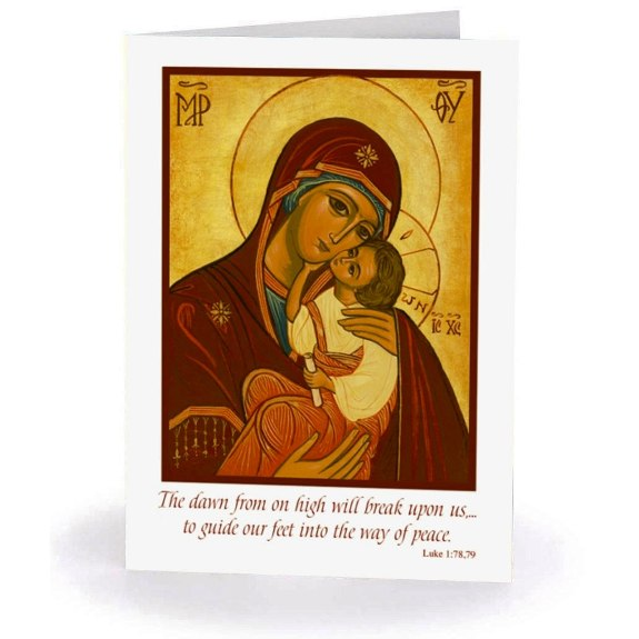 Madonna & Child Icon (box of 20)