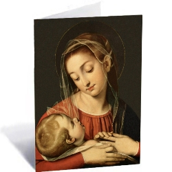 Madonna & Child Christmas Cards