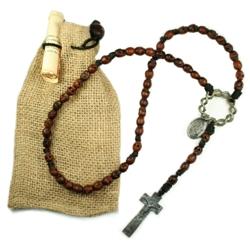 Augustinian Skull Rosary
