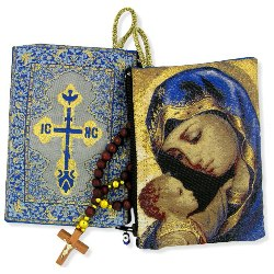 Madonna & Child Rosary Pouch (TIP4)