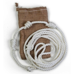 Franciscan Cincture (in burlap bag)