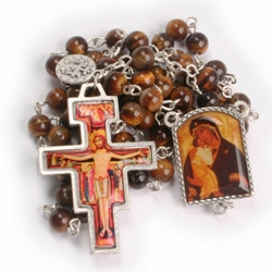St. Francis Crosses & Rosaries