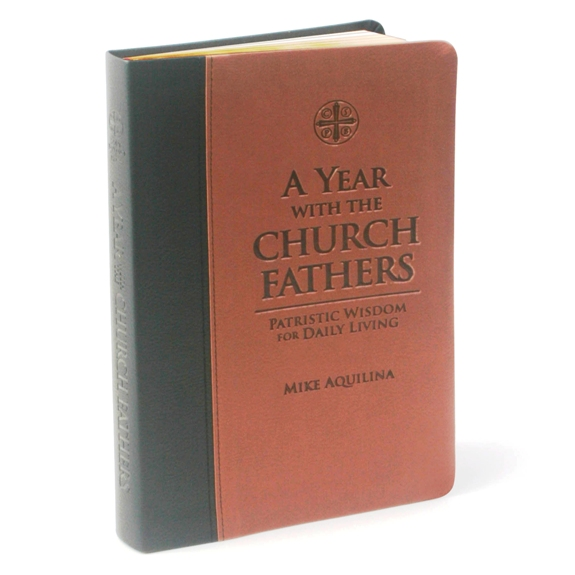 A Year with the Church Fathers (imitation leather)