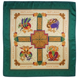 Book of Kells Scarf (square)