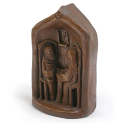 Benedict & Scholastica (statue)
