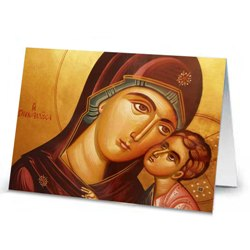 Madonna & Child Icon Image (box of 18)