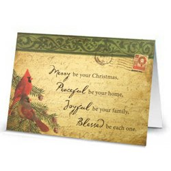 Christmas Prayers & Blessings Cards