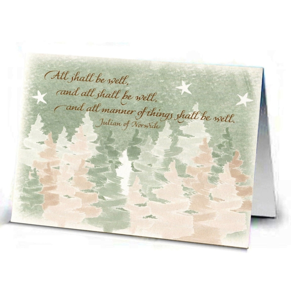 All Shall Be Well Christmas Cards