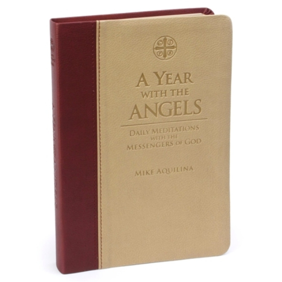 A Year with the Angels (imitation leather)