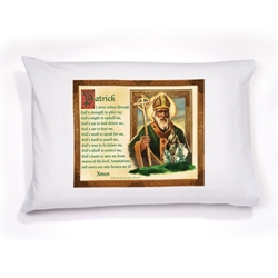 St. Patrick Prayer Pillowcase