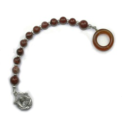 Heirloom Pocket Rosary (bronze gift box)