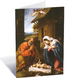 Holy Family Christmas Cards