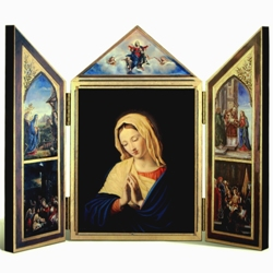 Virgin Mary Christmas Items