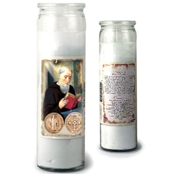 St. Benedict 3-Day Candle (8