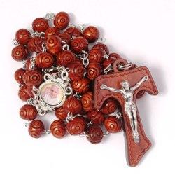 Pope Francis Tau Rosary (gift box)