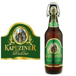 Kapuziner Hefe-Weizen (green label) 16.9 oz