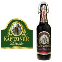 Kapuziner Schwarz-Weizen (brown label) 16.9 oz