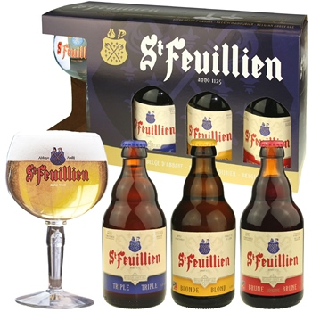 St. Feuillien Gift Set (with glass)