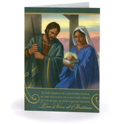 Love is Born at Christmas (box of 20)