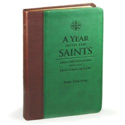 A Year with the Saints (imitation leather)
