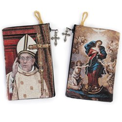 Mary, Undoer Rosary Pouch (TIP17)