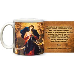 Mary, Undoer of Knots Coffee Mug