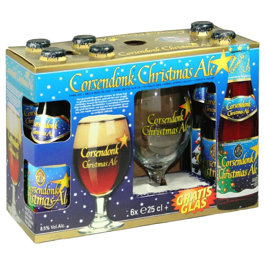 Corsendonk Christmas Gift Set (6 ales & glass)