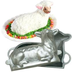 Lamb Cake Mold (heavy aluminum)