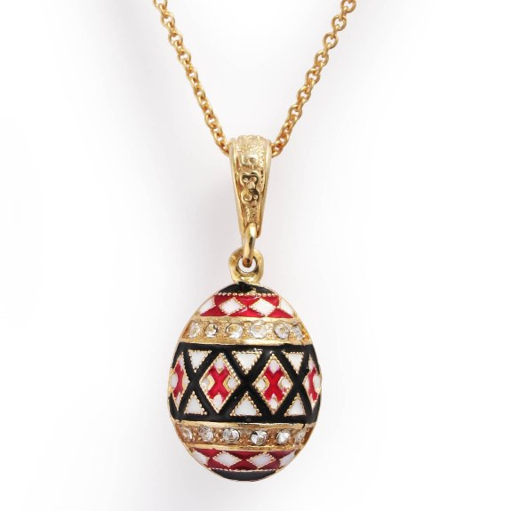 Pysanky Easter Egg Pendant
