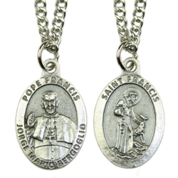 Pope Francis/St. Francis Medal