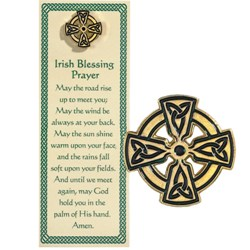 Celtic Cross Pin & Bookmark